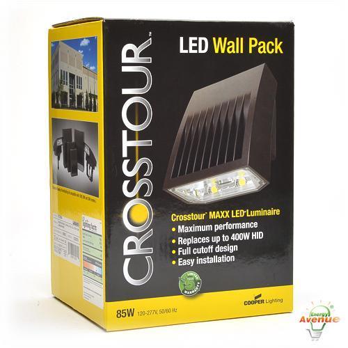 Cooper lighting xtor9a led wall pack 85 watt 7192 lumens 400 watt cooper lighting xtor9a crosstour led wall pack aloadofball Images